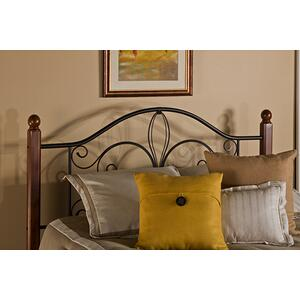 Milwaukee Wood Post King Headboard