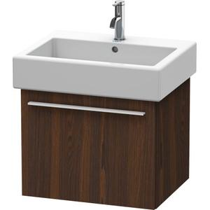 Vanity Unit Wall-mounted, Brushed Walnut (real Wood Veneer)