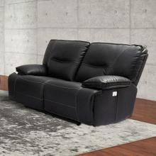 SPARTACUS - BLACK Power Loveseat
