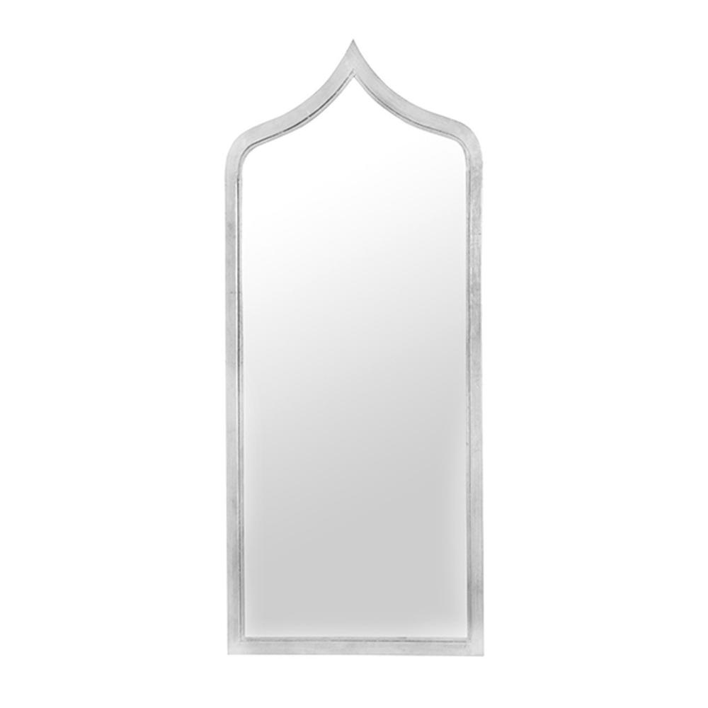 """Mirror Mirror On the Wall, Who's the Most Stylish of Them All"""" Our Extra Long, Moroccan Inspired Silver Leafed Iron Adina Mirror Will Have You Gazing Dreamily Back At Your Beautiful Interior."""