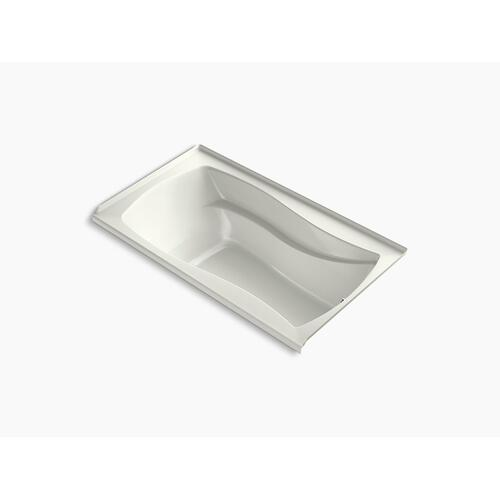 """Dune 66"""" X 36"""" Integral Flange Heated Bubblemassage Air Bath With Bask Heated Surface and Right-hand Drain"""