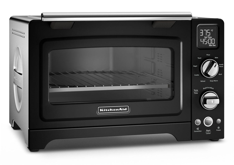 "Kitchenaid12"" Convection Digital Countertop Oven Onyx Black"