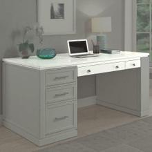 See Details - CATALINA 60 in. Writing Desk top with PWR Ctr and USB
