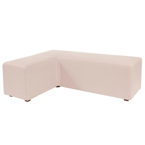 L Ottoman Cover Sterling Sand (Cover Only)