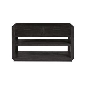 Sofa/Console Table - Cerused Ebony Finish