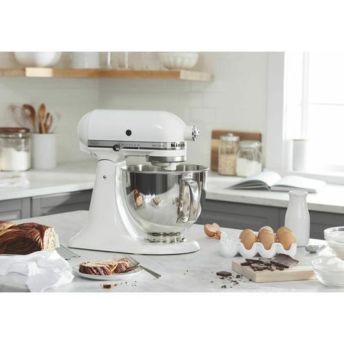 Gallery - Artisan® Series 5 Quart Tilt-Head Stand Mixer - White