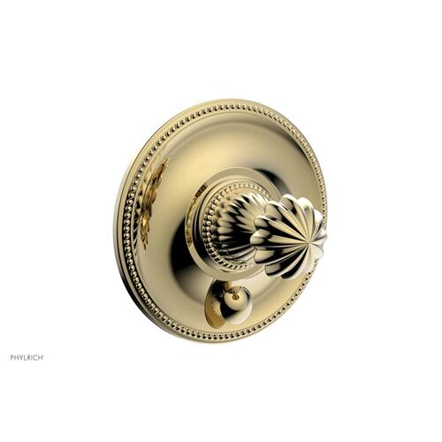 GEORGIAN & BARCELONA Pressure Balance Shower Plate with Diverter and Handle Trim Set PB2361TO - Polished Brass Uncoated