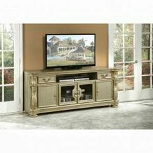 ACME Vendome II TV Console - 91313 - Gold Patina & Bone