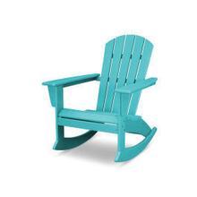 View Product - Nautical Adirondack Rocking Chair in Vintage Aruba