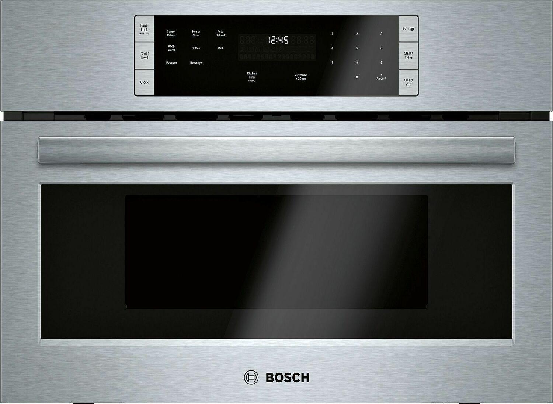"""Bosch500 Series, 27"""", Microwave, Ss, Drop Down Door"""
