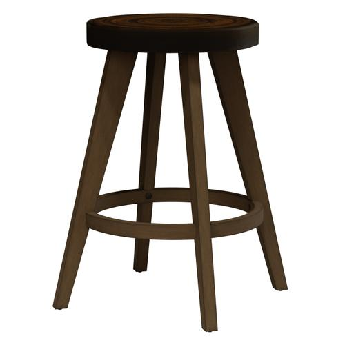 Brownington Wood Counter Height Stool, Cottage Oak