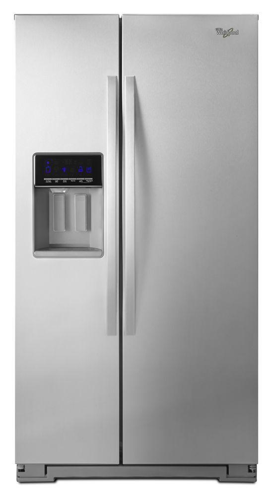Whirlpool36-Inch Wide Side-By-Side Refrigerator With Temperature Control - 26 Cu. Ft.