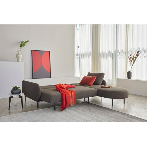 "MAGALA SOFA SEAT, BACK, CUSHIONS; 55""X83/MAGALA LOUNGER SEAT, BACK, CUSHION/MAGALA ARMRESTS, 1 SET/MAGALA FRAME, MAT BLACK/MAGALA METAL LEG FOR ARMREST, MAT BLACK"