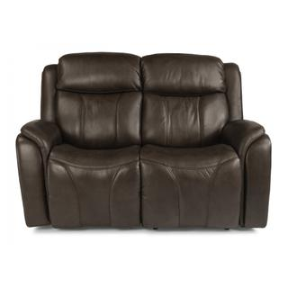 Paisley Power Reclining Loveseat with Power Headrests