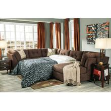 Delta City Chocolate Sleeper Sectional
