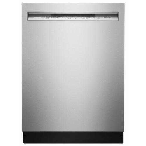 KitchenAid - 46 DBA Dishwasher with ProWash™ Cycle and PrintShield™ Finish, Front Control - Stainless Steel with PrintShield™ Finish