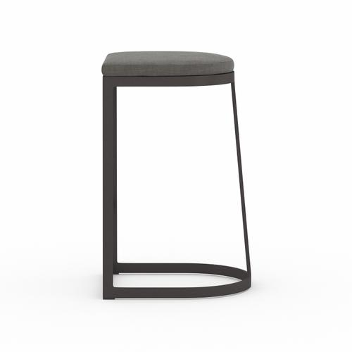 Bar Stool Size Charcoal Cover Val Outdoor Bar + Counter Stool, Washed Brown