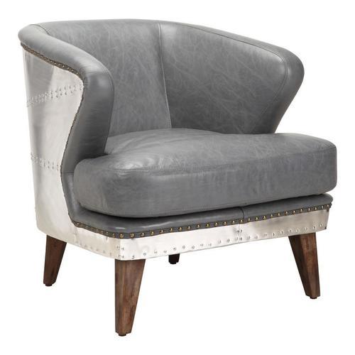 Moe's Home Collection - Cambridge Club Chair Antique Grey