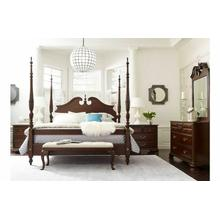 See Details - Rice Carved Queen Bed - Complete