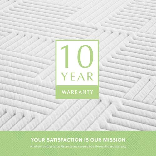 Wellsville 11 Inch Latex Hybrid Mattress King