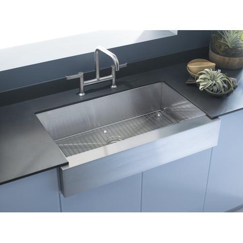 "35-1/2"" X 21-1/4"" X 9-5/16"" Undermount Single-bowl Farmhouse Kitchen Sink for 36"" Cabinet"