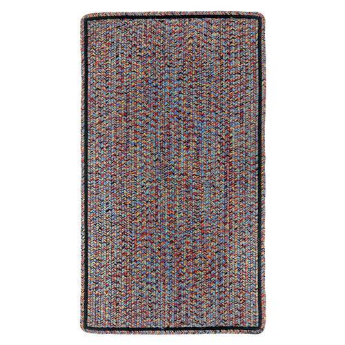 Capel Rugs - Sea Glass Fiesta Bright Multi - Vertical Stripe Rectangle - Custom