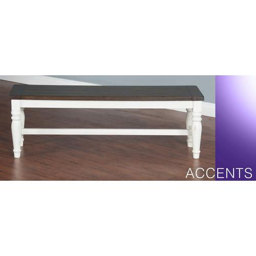 Bourbon County Bench w/ Oak Veneer Seat