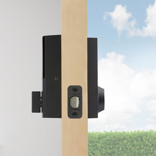 Kwikset - 919 Premis Contemporary Smart Lock - Matte Black