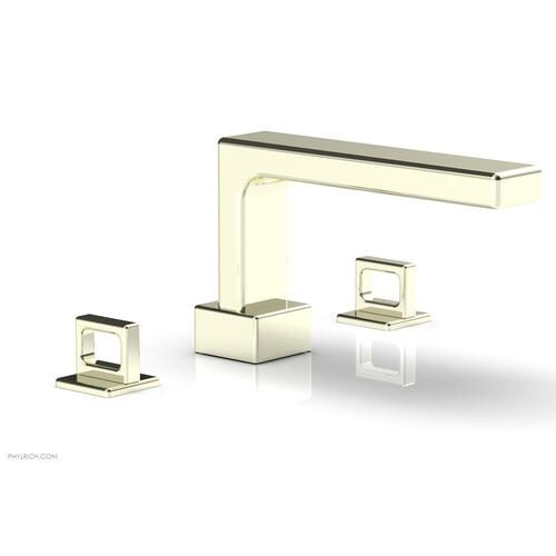 MIX Deck Tub Set - Ring Handles 290-42 - Burnished Nickel