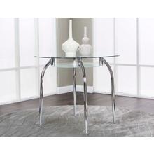 Mirage Chrome Table Base