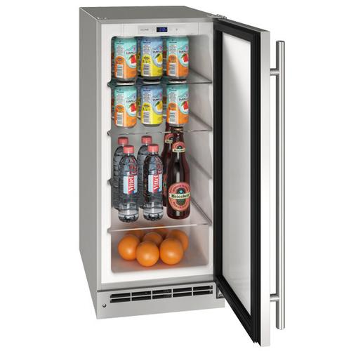"15"" Refrigerator With Stainless Solid Finish (115 V/60 Hz Volts /60 Hz Hz)"