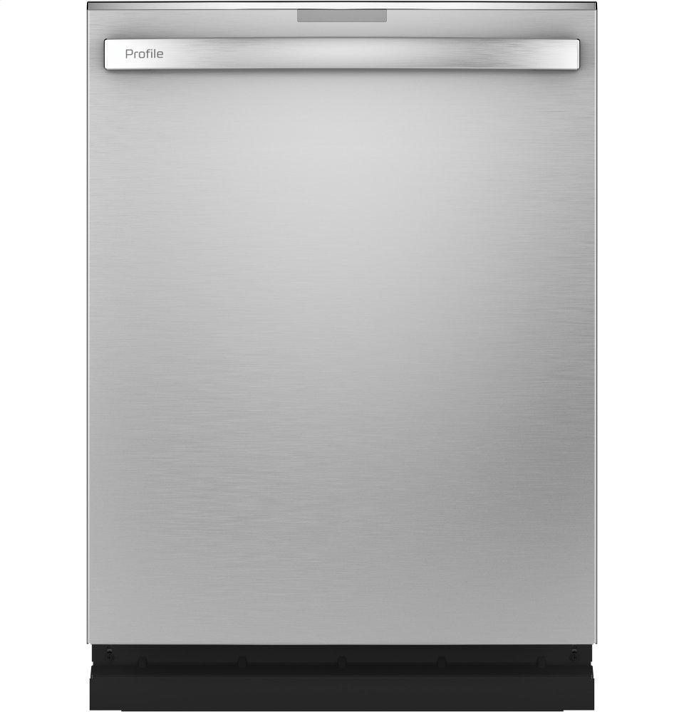 GE ProfileGe Profile™ Fingerprint Resistant Top Control With Stainless Steel Interior Dishwasher With Sanitize Cycle & Twin Turbo Dry Boost