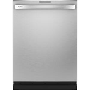 GE Profile™ Fingerprint Resistant Top Control with Stainless Steel Interior Dishwasher with Sanitize Cycle & Dry Boost with Fan Assist Product Image