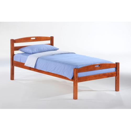 Night and Day Furniture - Sesame Bed in Cherry Finish