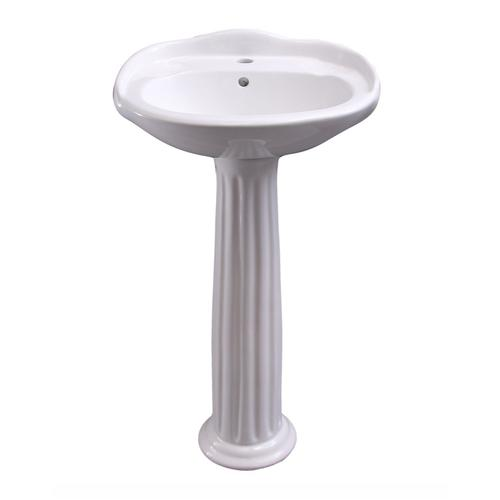 Arianne Pedestal Lavatory - Single-Hole