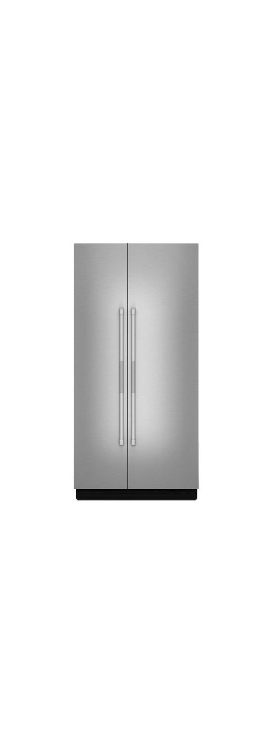 """Pro-Style® 42"""" Fully Integrated Built-In Side-by-Side Panel-Kit Stainless Steel"""