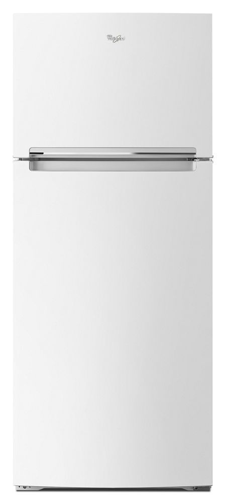 Whirlpool28-Inch Wide Refrigerator Compatible With The Ez Connect Icemaker Kit - 18 Cu. Ft.
