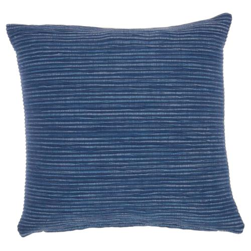 "Life Styles Ss917 Navy 18"" X 18"" Throw Pillow"