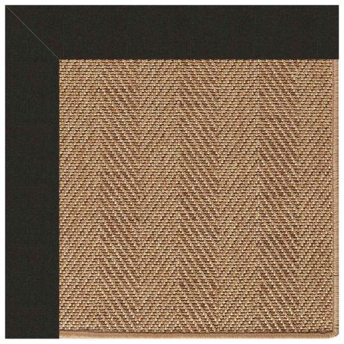 Capel Rugs - Islamorada-Herringbone Canvas Black