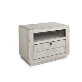 Nightstand - Gray Chalk Finish