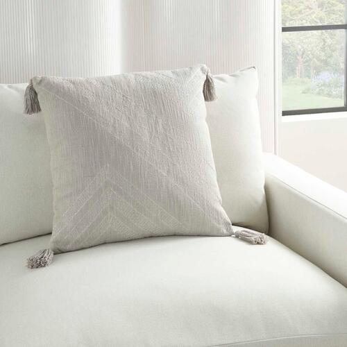 "Kathy Ireland Pillow Aa443 Grey 20"" X 20"" Throw Pillow"
