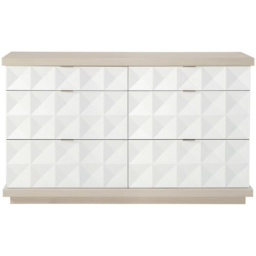 Axiom Dresser in Linear Gray (381), Linear White (381)