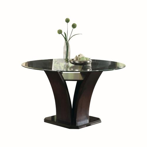 Round Dining Table Glass Top, Round Table Bellingham Wa