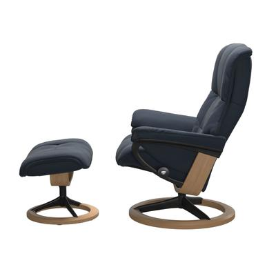 See Details - Stressless® Mayfair (M) Signature chair with footstool