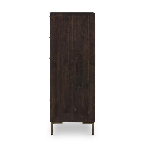 Wyeth 5 Drawer Dresser-dark Carbon