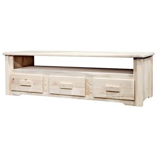 Homestead Collection Sitting Chest / Entertainment Center