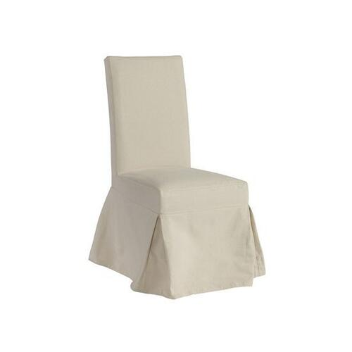 Slipcover Accent Chair (1/Ctn) - Off White Finish