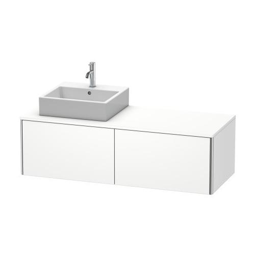 Duravit - Vanity Unit For Console Wall-mounted, White Matte
