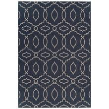 "Finesse-Moor Navy - Rectangle - 3'11"" x 5'6"""