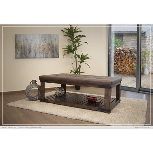 Cocktail Table w/ Cushion Top